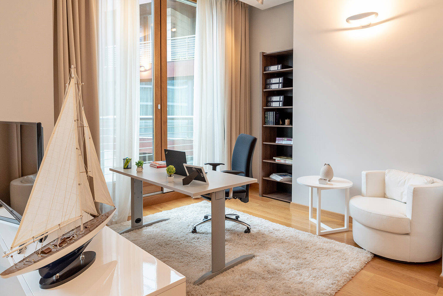 The Capital Plaza apartment office